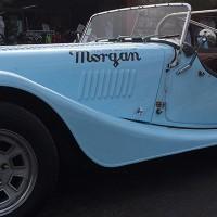 voiture ancienne bleue face 200x200